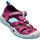 Keen Kids Moxie Sandals Red Violet/Pastel Turquoise